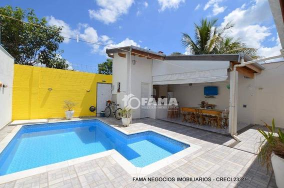 Casa Residencial À Venda, Condomínio Campos Do Conde, Paulínia - Ca1322. - Ca1322