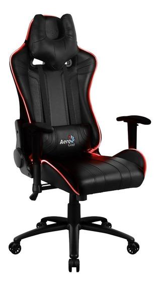 Cadeira Gamer Escritório Confortavel Led Rgb De Luxo Ac120