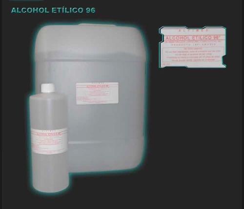 Imagen 1 de 2 de Alcohol Etílico 96 De Caña, Curación, Etanol Chimeneas 20lt