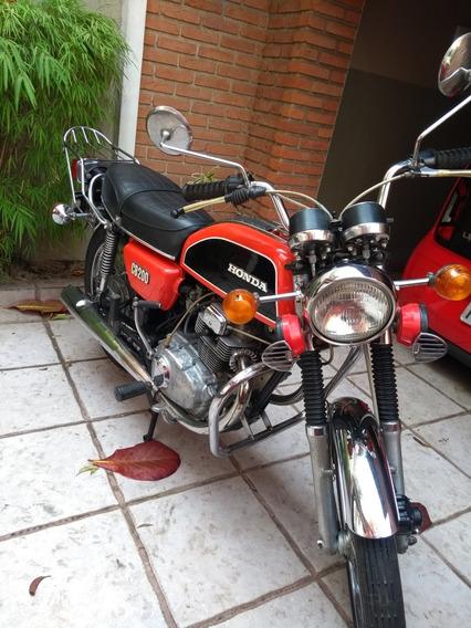 Honda Cb 200 Antiga
