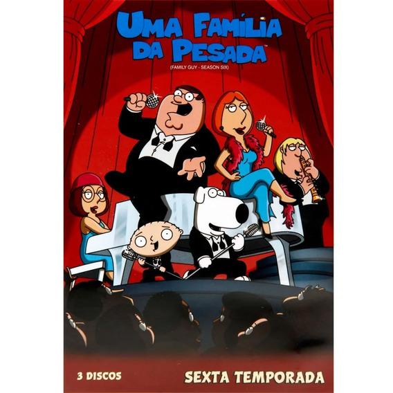 Seriado Uma Familia Da Pesada 6ª Temporada 3 Discos Dvd