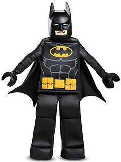 Disguise Batman Lego Movie Prestige, Negro, Pequeño (4-6)