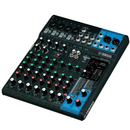 Mesa De Som 10 Canais C/ Usb/ Fx/ Ph/ 1aux Mg10xu - Yamaha