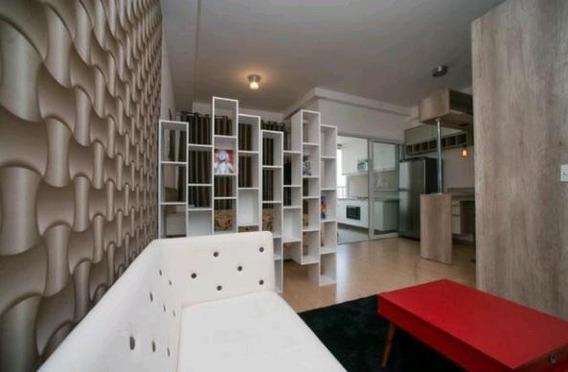Loft Decorado E Mobiliado Com 1 Dormitório E 1 Vaga Para Alugar, 36 M² - Jardim Do Mar - São Bernardo Do Campo/sp - Lf0175