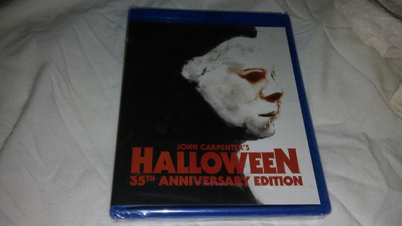 Halloween 35th Anniversary Bluray Nueva