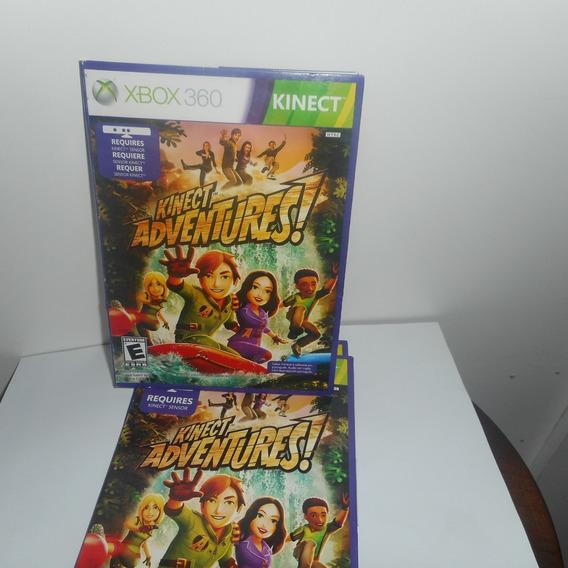 Kinect Adventures! Xbox 360 Mídia Física Novo