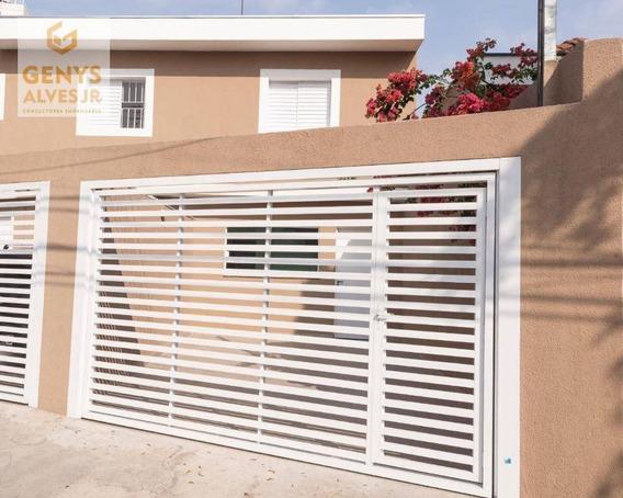 Sobrado Com 2 Dormitórios Disponível À Venda E Locação, 75 M² Por R$ 460.000 Ou R$ 2.300,00 Tatuapé - São Paulo/sp - So0006
