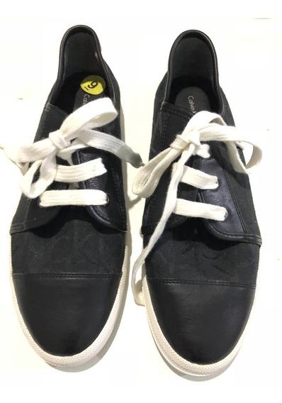 Zapatillas Calvin Klein Talle 9 Usa, Arg. 39 Importad Nuevas