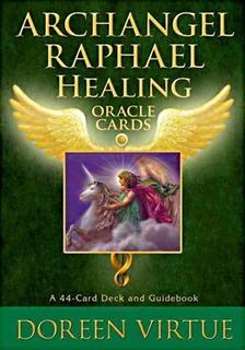 Archangel Raphael Healing Oracle Cards, Esta En Ingles