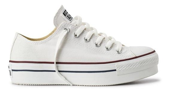 Zapatillas Converse Chuck Taylor All Star Plataforma Blancas