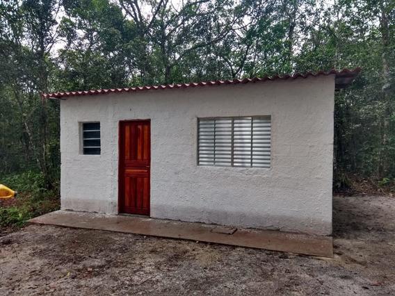 Casa Em Área De Chacara A Venda Em Itanhaém.