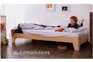 Cama Montessori Infantiles Artmodulares