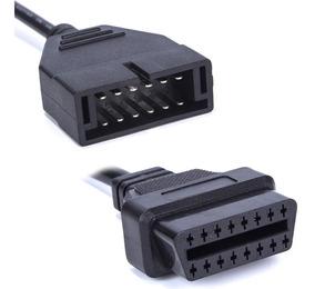 Conector Adaptador 12 Pines A 16 Pines Obd2 Gm, Chevrolet