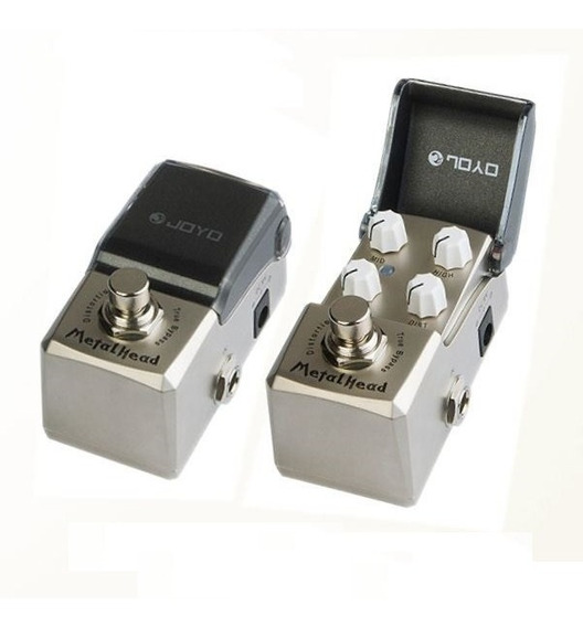 Pedal De Guitarra Joyo Metal Head Distortion + Nf + Garantia
