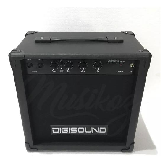 Amplificador Guitarra 15w Digisound Gax 15 Musikoz