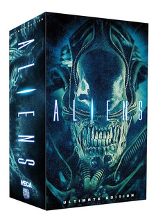 Neca Aliens Warriors Ultimate Blue