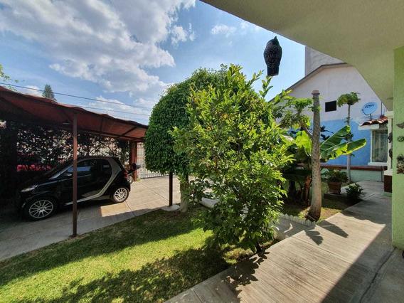 Casa Amueblada De 1 Nivel En Ixtapan Tonatico Con Jardín