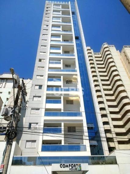 Apartamento Com 1 Dormitório À Venda, 39 M² Por R$ 190.000 - Setor Central - Goiânia/go - Ap2870
