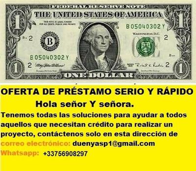 Oferta De Crédito Agrícola Con Garantía Whastap +33756908297