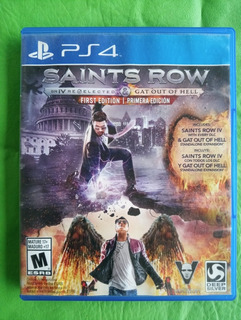 Saints Row Ps4 First Edition