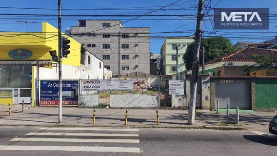 Terreno Para Alugar, 480 M² - Vila Valqueire - Rio De Janeiro/rj - Te0003