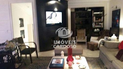 Imagem 1 de 8 de Apartamento Duplex Com 4 Dormitórios À Venda, 367 M² Por R$ 1.750.000 - Real Parque - São Paulo/sp - Ad0004