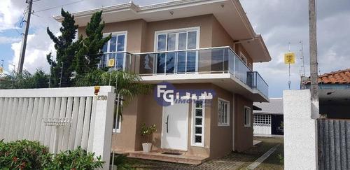 Sobrado Com 4 Dormitórios À Venda, 229 M² Por R$ 660.000,01 - Guatupê - São José Dos Pinhais/pr - So0151