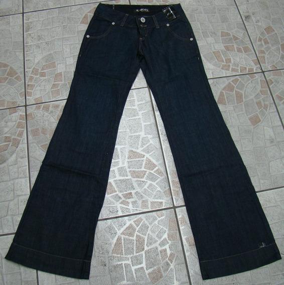 Calça Jeans Flare Billabong Feminina 38 (cintura 76 Cms)