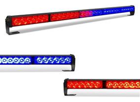 Giroflex Barra Led 30 Polegadas - Vermelho/ Azul E Vermelho