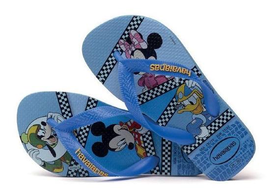 Havaianas Kids Mickey Azul Aço