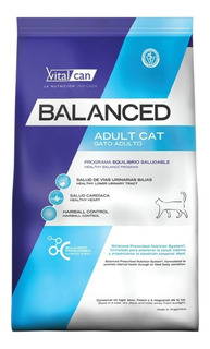 Alimento Vitalcan Balanced gato adulto mix 7.5kg
