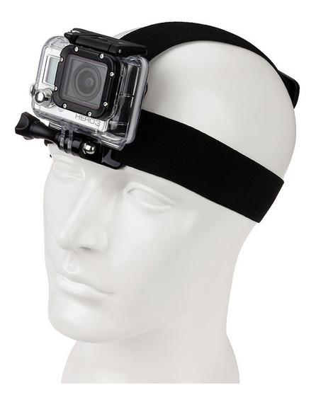Suporte Cabeça P/ Gopro Hero 3+ 4 5 6 7 E Actioncams