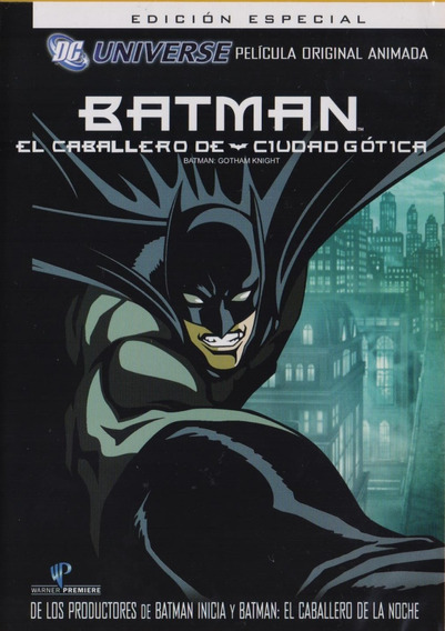 Batman El Caballero De Ciudad Gotica Pelicula Dvd