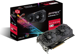 Rx 570 Asus Rog Strix 4gb Gaming Mejor Que Gtx1650 Y 1050ti