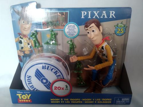 Woody Y Las Tropas Toy Story Disney Mattel
