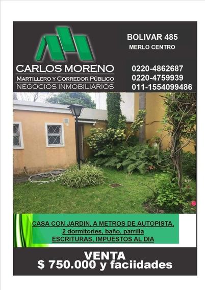 Casa Con Jardín!!