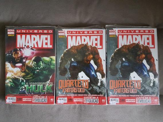 Hq Universo Marvel Nº 2 E 3 Valor Unitário