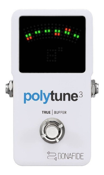 Pedal Poly-chromatic - Polytune 3 - Tc Electronic