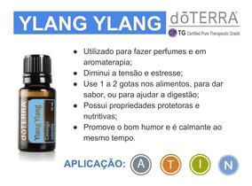 Óleo Essencial Ylang Ylang Doterra Envio Ultrarápido