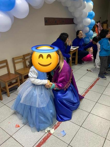 Se Vende Vestido De Frozen Talla 4-6, Para Niña De 3 A 5 Año