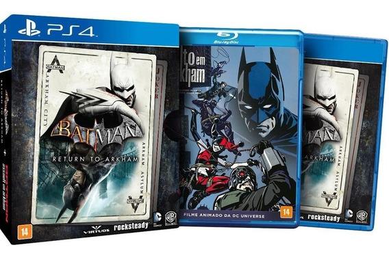 Batman Return To Arkham - Ps4 - Mídia Física