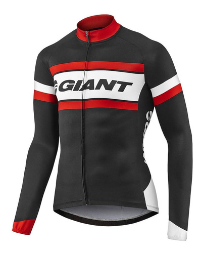 Jersey Remera Ciclismo Giant Rival Ls Transpirable