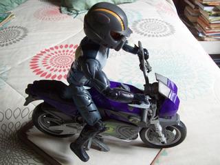 Muñeco De Max Stell + Motocicleta . Mattel. Inc