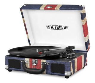 Tocadiscos Bandera Del Reino Unido Bt Victrola Vsc-550bt-uk