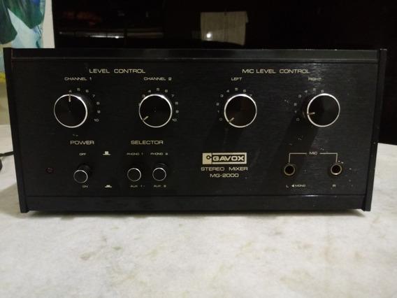 Mixer Gavox Mg-2000 - 2 Canais - Otimo Estado!