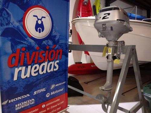 Motor Honda Bf 2 Hp División Ruedas Oficial