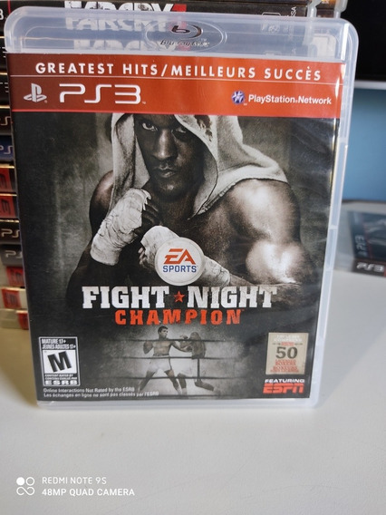 Jogo Fighter Night Champion Para Ps3