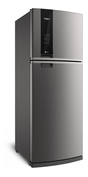 Heladera no frost Whirlpool WRM56 acero inoxidable con freezer 462L 220V