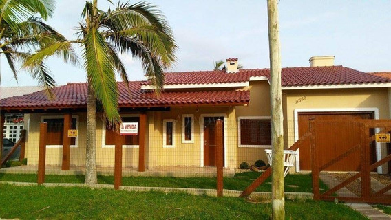 Casa Residencial À Venda, Nova Tramandaí, Tramandaí. - Ca1808
