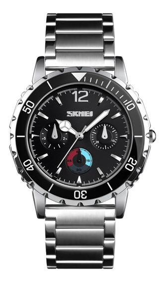 Moda Negócios Luxo Relógio De Quartzo Aço Inoxidável An